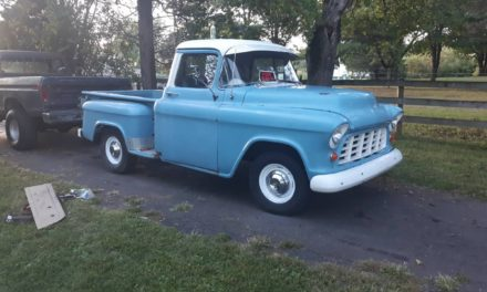 1955 Chevrolet 3100 Step Side V8/4-speed Project – SOLD!