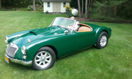 Poor Man's Cobra: 1961 MGA With 289 Ford V8 – SOLD!