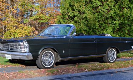 1965 Ford Galaxie 500 XL Convertible – $9,500