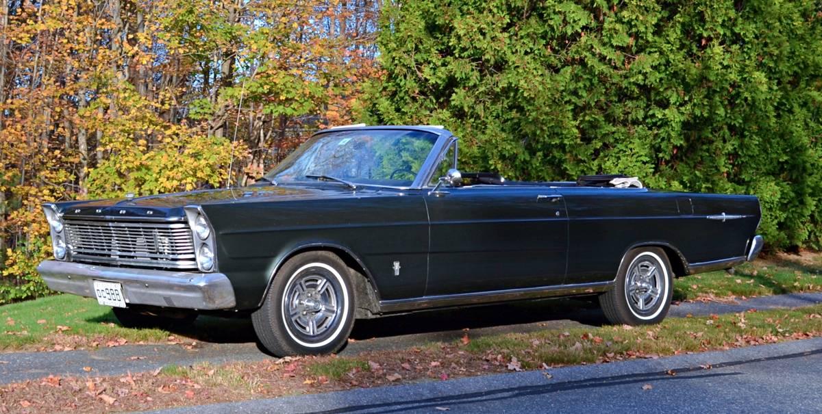 1965 Ford Galaxie 500 XL Convertible – $9,500