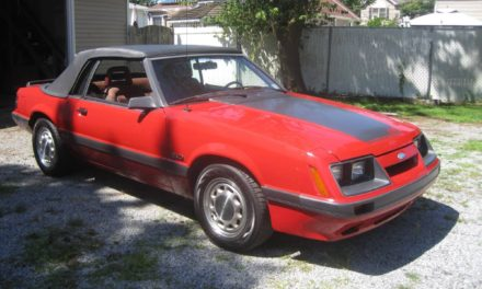 1986 Ford Mustang GT 5-Speed Convertible – Now $9,700