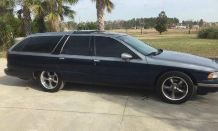 1991 Buick Roadmaster Estate Wagon Mild Custom – $5,500