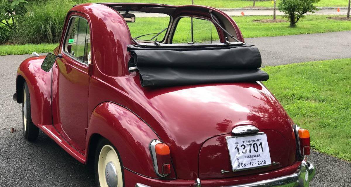 1953 Fiat 500C Topolino Convertible – $36,000
