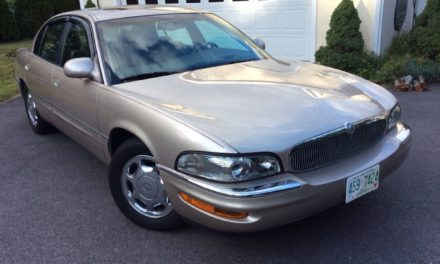 Ultra Sleeper: 1999 Buick Park Avenue Ultra 19K Original Miles – $9,750