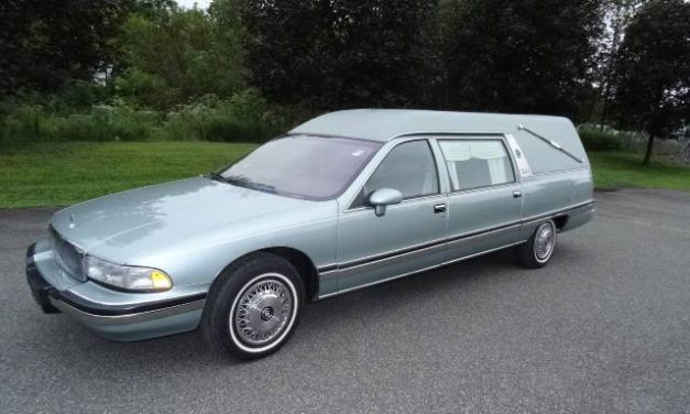 The Ultimate Sleeper?  1993 Buick Roadmaster Hearse – $8,500