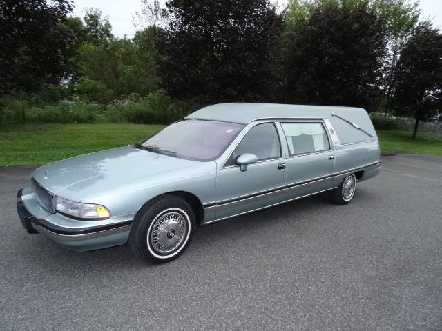 The Ultimate Sleeper?  1993 Buick Roadmaster Hearse – Sold!
