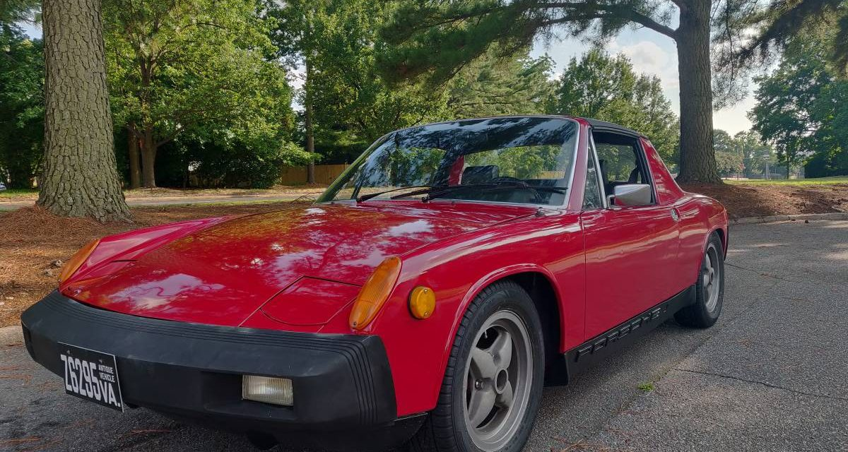 1975 Porsche 914 1.8 5-Speed – Sold!