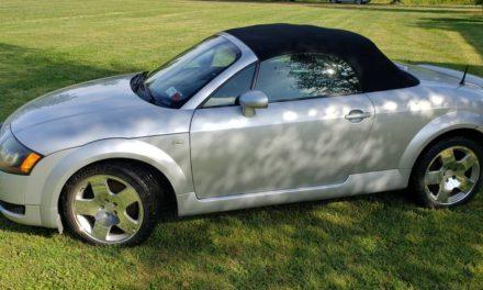 2001 Audi TT Roadster 6-Speed – $5,500
