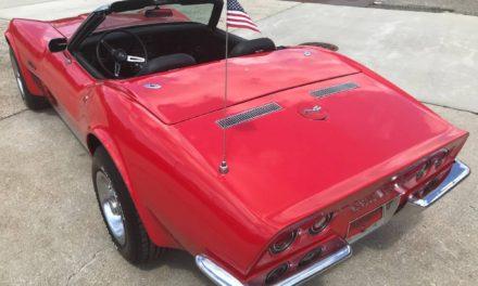 1971 Chevrolet Corvette Convertible 350/4-Speed – $24,500