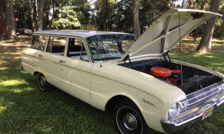 NEW! Award 20: 1961 Ford Falcon Station Wagon – SOLD!