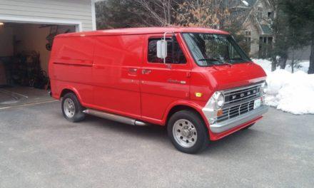 1973 Ford Econoline Customized E300 Super Van – $11,500