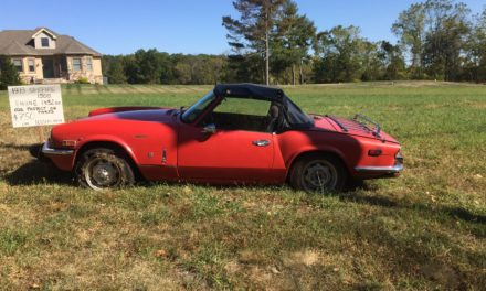 Side of the Road 17: 1973 Triumph Spitfire 1500 Barn Find – $750