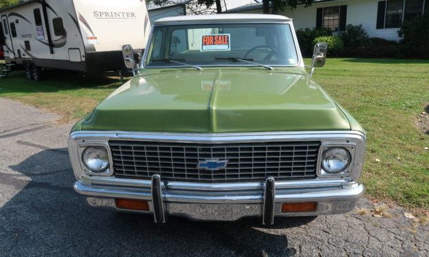 Side of the Road 16: 1972 Chevrolet C10 Custom Survivor – $16,500 OBO