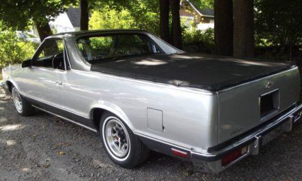 1987 Chevrolet El Camino V6 – $3,200