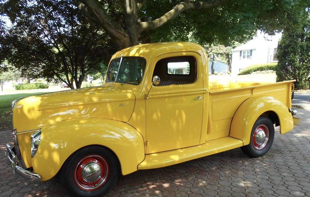 1940 Ford Pickup Restored Mild Custom -$32,500