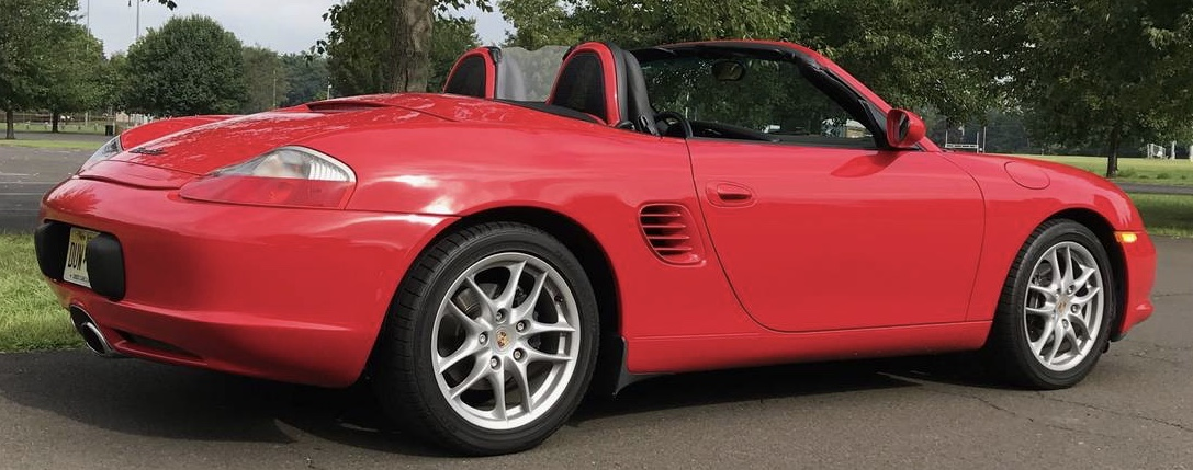 2003 Porsche Boxster Base 5-Speed – Sold!