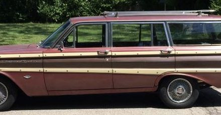 1965 Ford Falcon Squire Wagon C Code 289 – $8,500