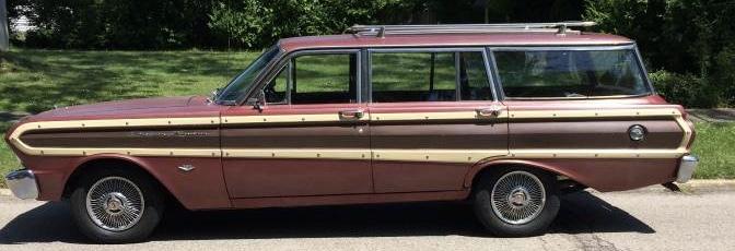 1965 Ford Falcon Squire Wagon C Code 289 – $8,500