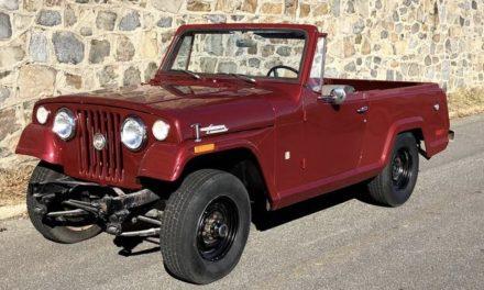 1971 Jeep Jeepster Commando Wagon – $10,950