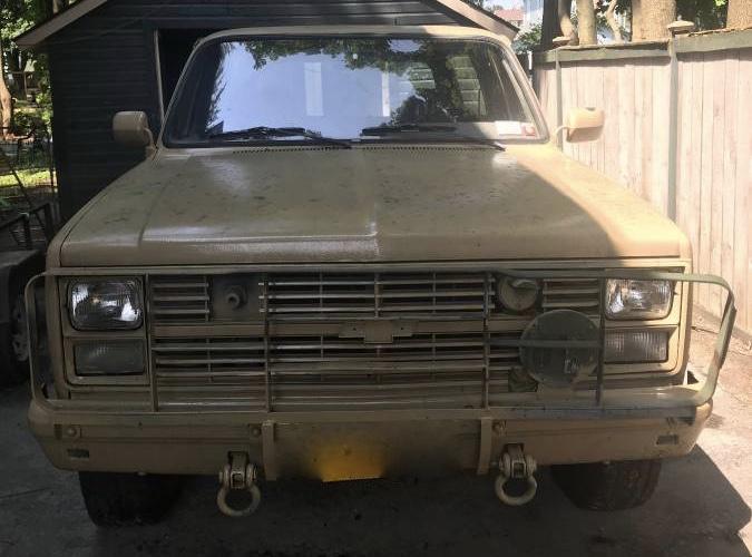 1986 Military M1009 CUCV – $5,900