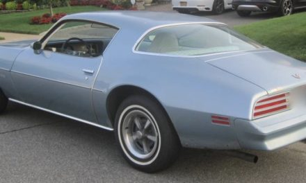 1976 Firebird Hardtop Coupe One Owner 75K Mile Survivor – $8,900