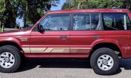 1999 Mitsubishi Montero Dakar Edition – SOLD!