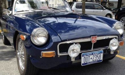 Seven Months Gone: 1972 MG MGB Restored – NOW $18,500