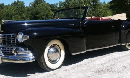 1947 Lincoln Continental Cabriolet – Sold!