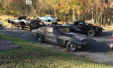 Fire Sale: Five Burned Out Corvettes – Sold!