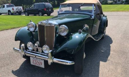 Best In The World:  1952 MG TD – $28,000