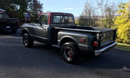 Gray K: 1972 Chevrolet K10 Stepside Restored Mild Custom – SOLD!