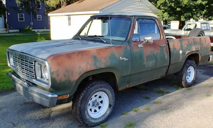 1977 Dodge Power Wagon 4×4 – $4,477