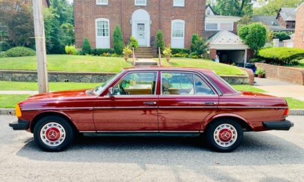Orient Red Express: 1983 Mercedes Benz W123 240D Automatic 46K Mile Survivor – SOLD!