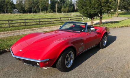 Great Workout: 1969 Chevrolet C3 Corvette Convertible 4-Speed – Sold!