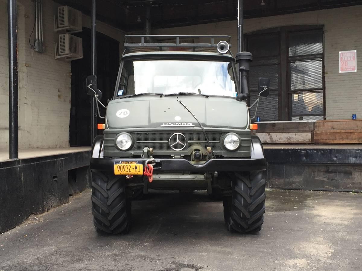 Go Anywhere: 1978 Mercedes-Benz Unimog 416 - SOLD ...
