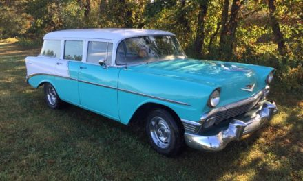 1956 Chevrolet 210 Four Door Station Wagon – SOLD!