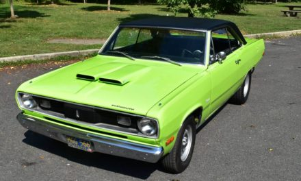 Dart Twin: 1972 Plymouth Valiant Scamp V8 Automatic – $13,800 OBO