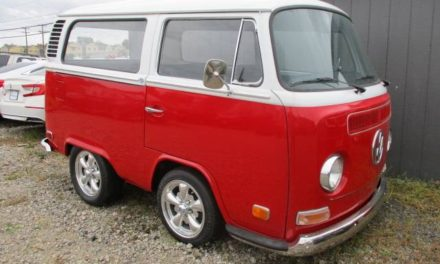 Short Bus:  1972 Volkswagen Bus Custom Hot Rod – $15,900