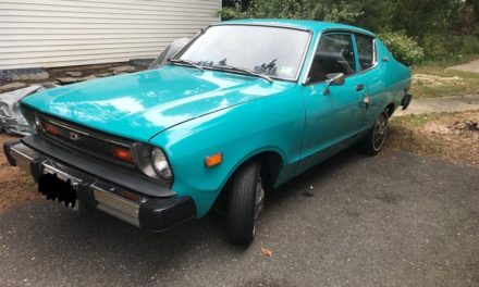 RWD Fuel Sipper:  1977 Datsun B210 Deluxe Two Door Sedan – $8,000 OBO