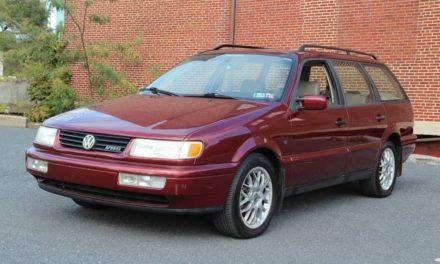 B4 Time Capsule: 1995 Volkswagen Passat GLX VR6 Station Wagon – $6,950