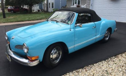 Even Slower: 1973 Karmann Ghia Convertible Semi-Automatic – Sold!