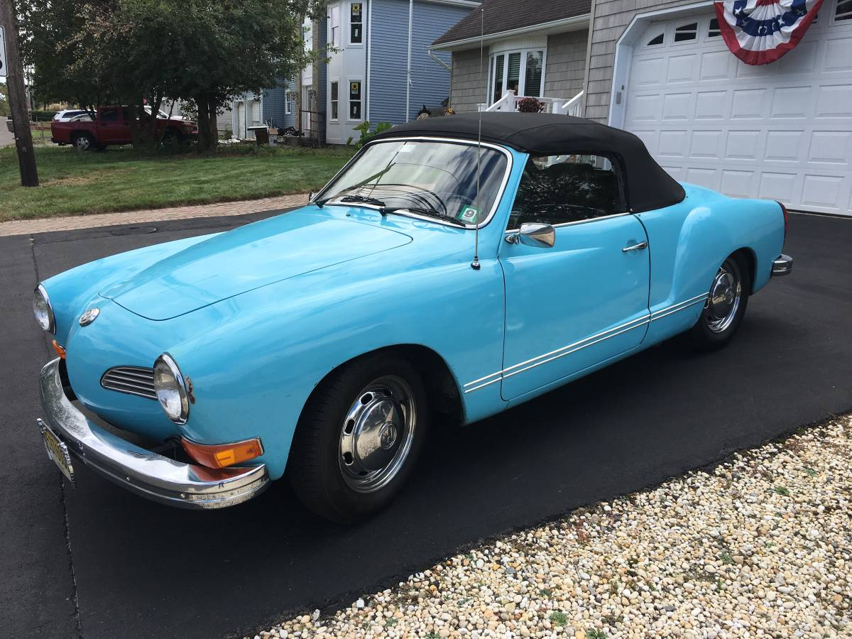 Even Slower 1973 Karmann Ghia Convertible Semi Automatic Sold Guyswithrides Com