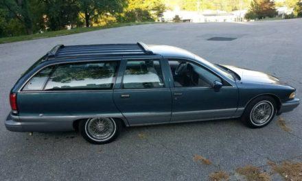 1994 Chevrolet Caprice Nine Passenger Wagon – $4,650