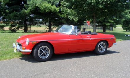 Seeing Red: 1972 MG MGB Mk III – SOLD!