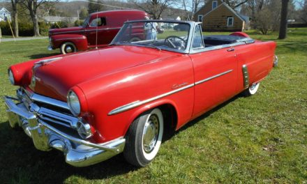 One Year Gone:  1952 Ford Crestline Sunliner Convertible – STILL $24,485