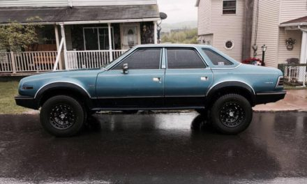 Four By Four Door: 1986 AMC Eagle – $5,000 ORO