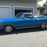 Blue Flame V8: 1965 Chevrolet El Camino Mild Custom – NOW $15,500