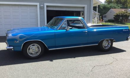Blue Flame V8: 1965 Chevrolet El Camino Mild Custom – SOLD!