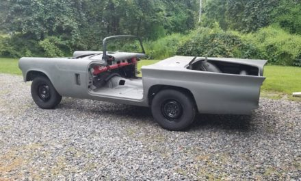 Estate Sale:  1957 Ford Thunderbird Stalled Restoration Project – Sold!