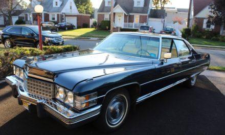 Half Life:  1974 Cadillac Sedan DeVille Original Owner 74K Mile Survivor – $4,200 ORO